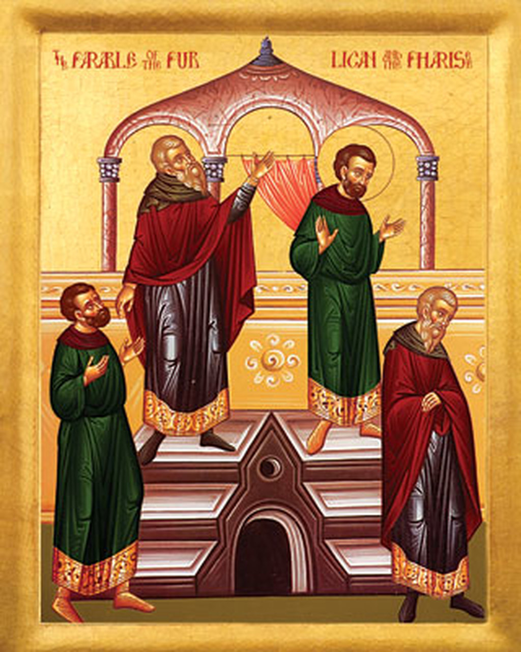Icon of the Publican and Pharisee